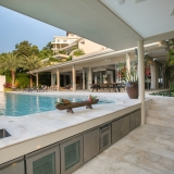 Bayside villa 6. A luxury and private 5 bedroom ocean view villa overlooking Samrong Bay, Koh Samui, Thailand
