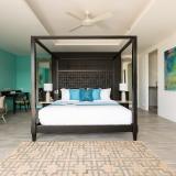 Bedroom at Bayside villa 4. A luxury and private 6 bedroom ocean view villa overlooking Samrong Bay, Koh Samui, Thailand